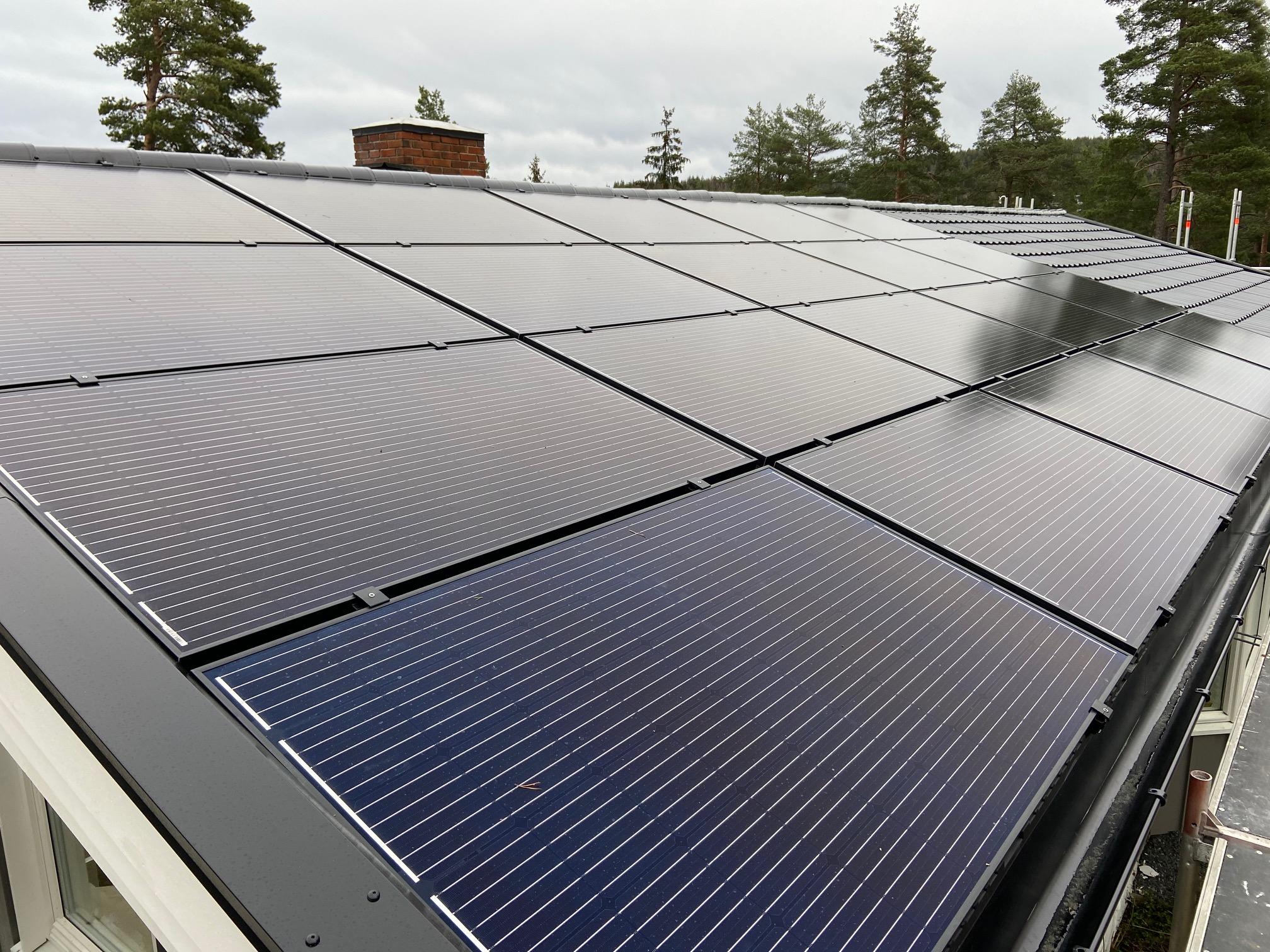 Solceller på tak - en god og viktig investering