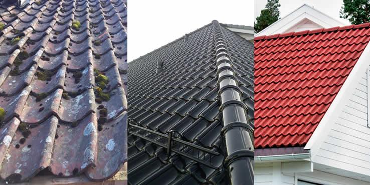 Ta en real vårsjekk av taket ditt! Sjekklisten finner du her!