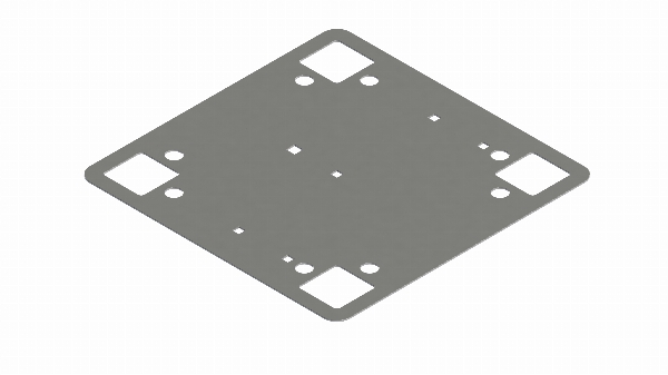 410115 Festeplate for papp- og folietak